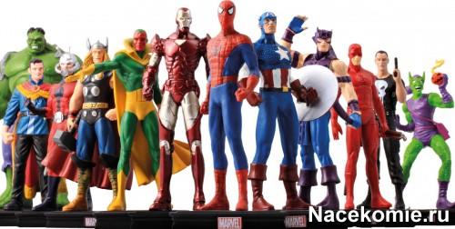 Официальная коллекция фигурок «Герои Marvel 3D»