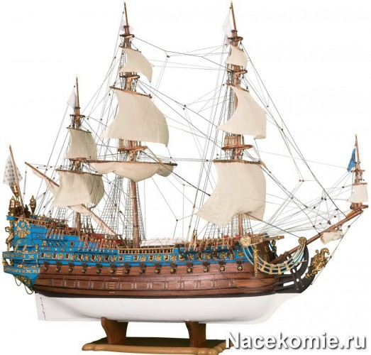 Собранный корабль из коллекции