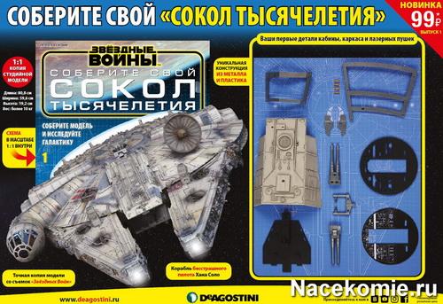 Коллекция «Звездные Войны. Соберите свой Сокол Тысячелетия» (ДеАгостини)