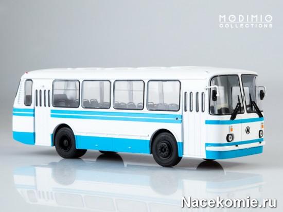 Модель советского автобуса ЛАЗ-695Н из первого выпуска коллекции