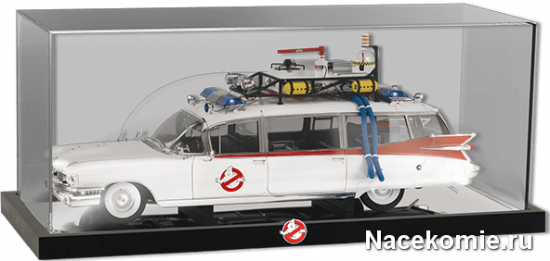 Прозрачный кейс для демонстрации и хранения модели